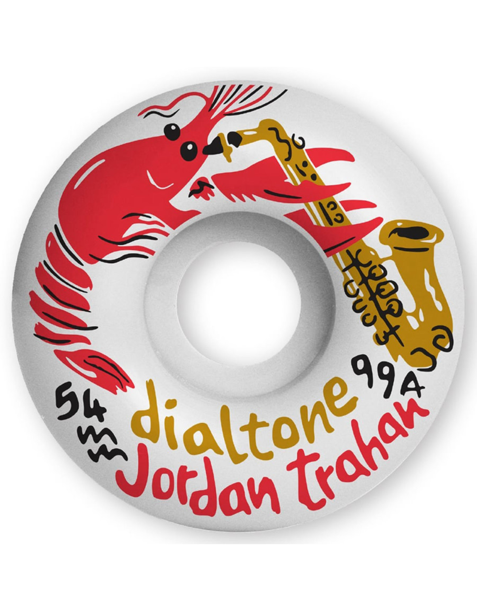 Dial Tone Dial Tone Wheels Trahan Zydeco Standard (54mm/99a)