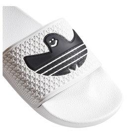Adidas Adidas Slide Shmoo Foil (White/Black)