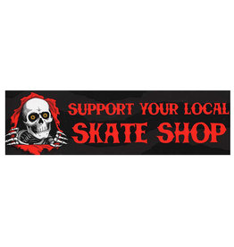 Powell Peralta Powell Peralta Sticker Support Your Local Skate Shop Bumper