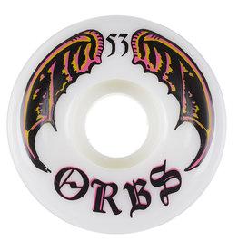 Orbs Wheels Orbs Wheels Specters White (53mm/99a)