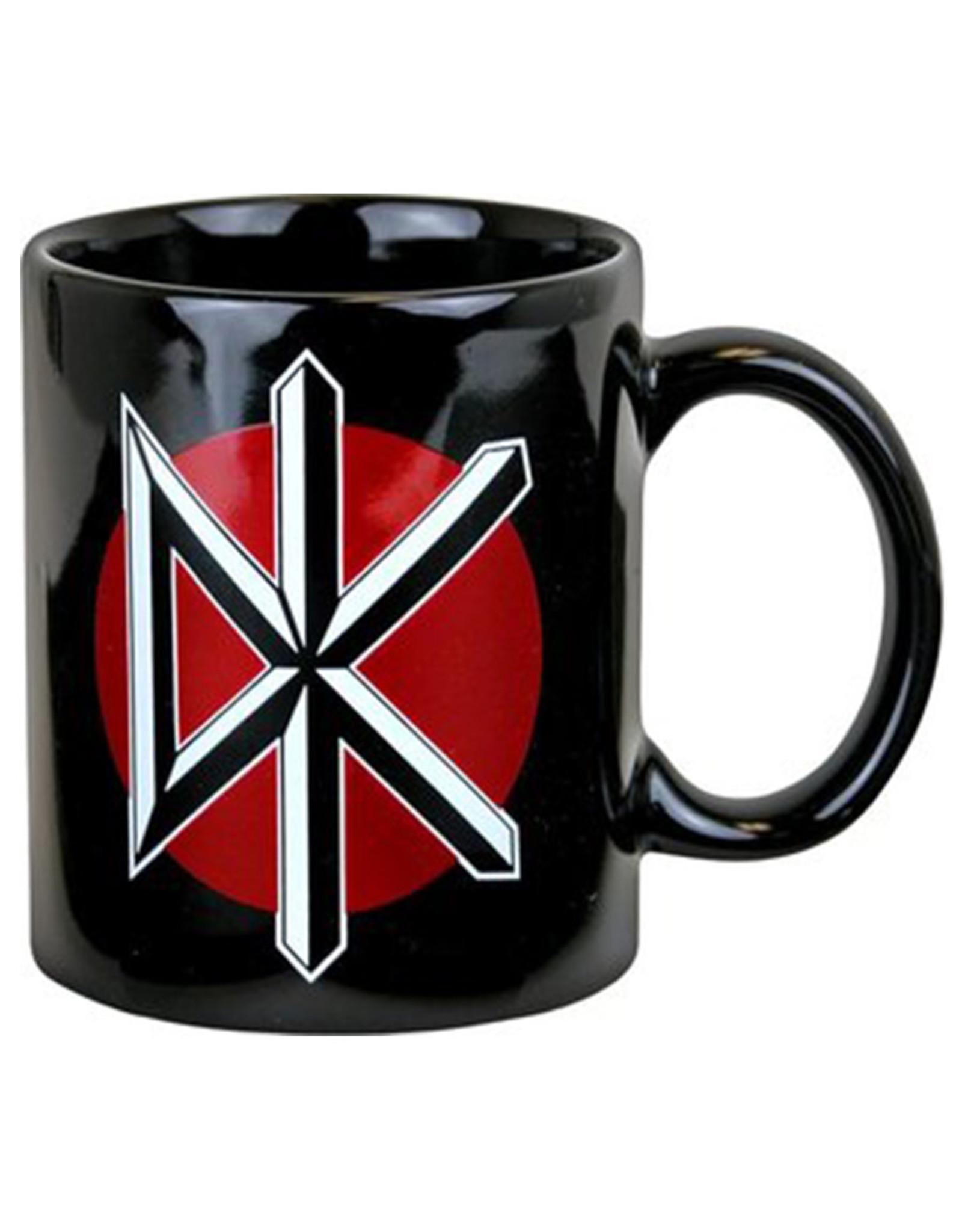 Star 500 Concert Series On Hollywood Mug Dead Kennedys Logo (Black)