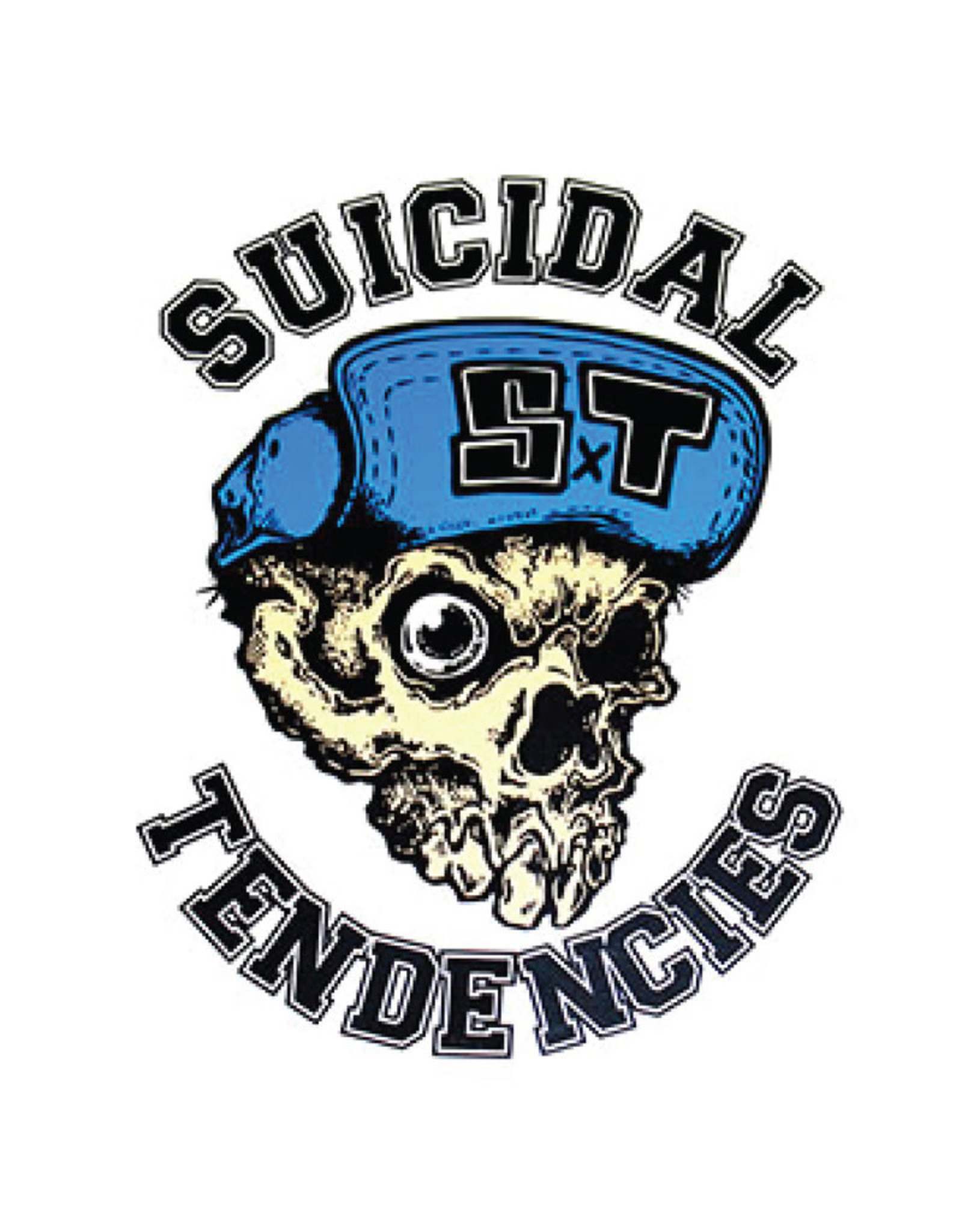 Star 500 Concert Series On Hollywood Sticker Suicidal Tendencies Skull
