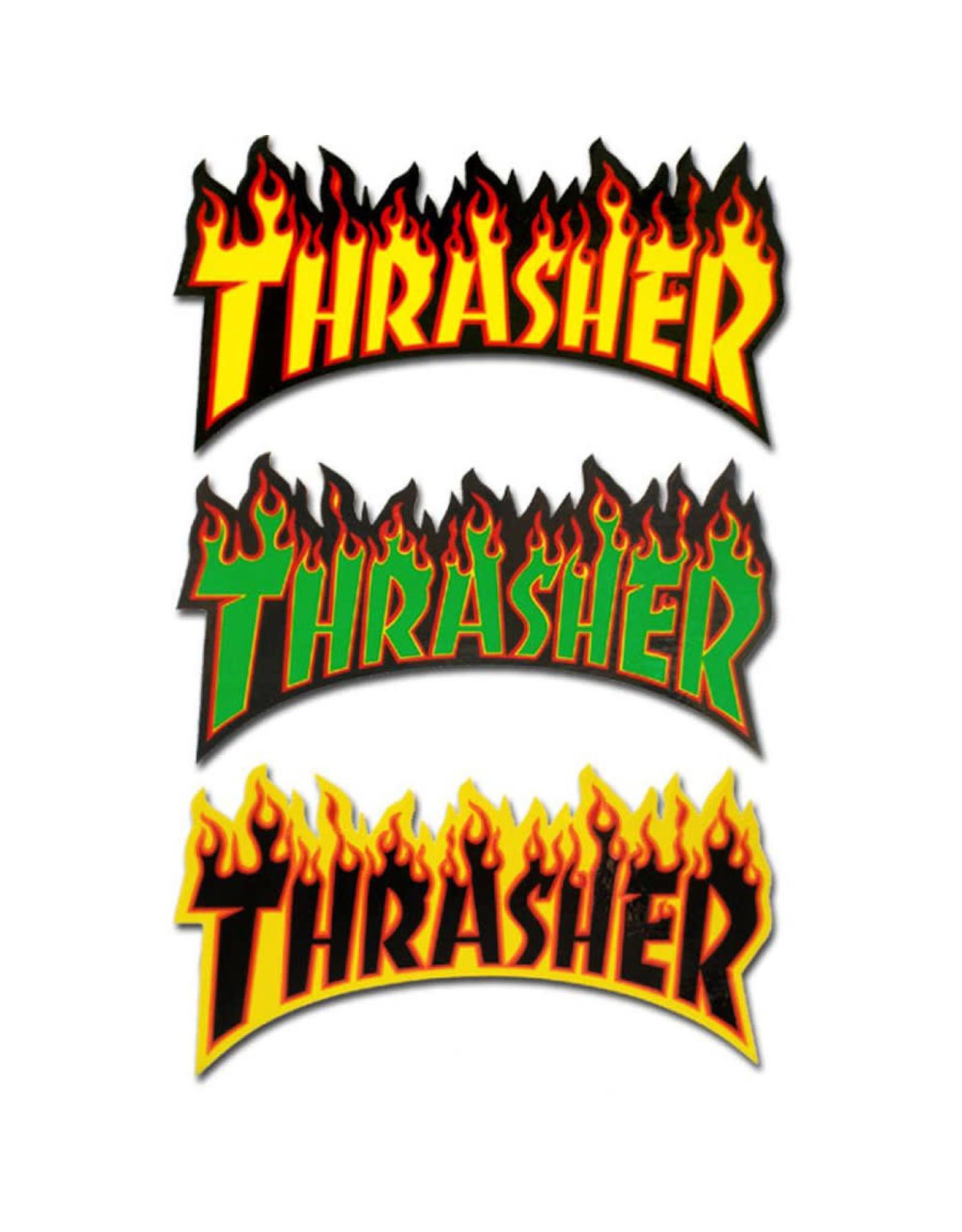 Thrasher Thrasher Sticker Flame Die-Cut Logo Assorted (Small)