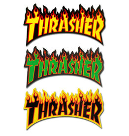 Thrasher Thrasher Sticker Flame Die-Cut Logo Assorted (Small)