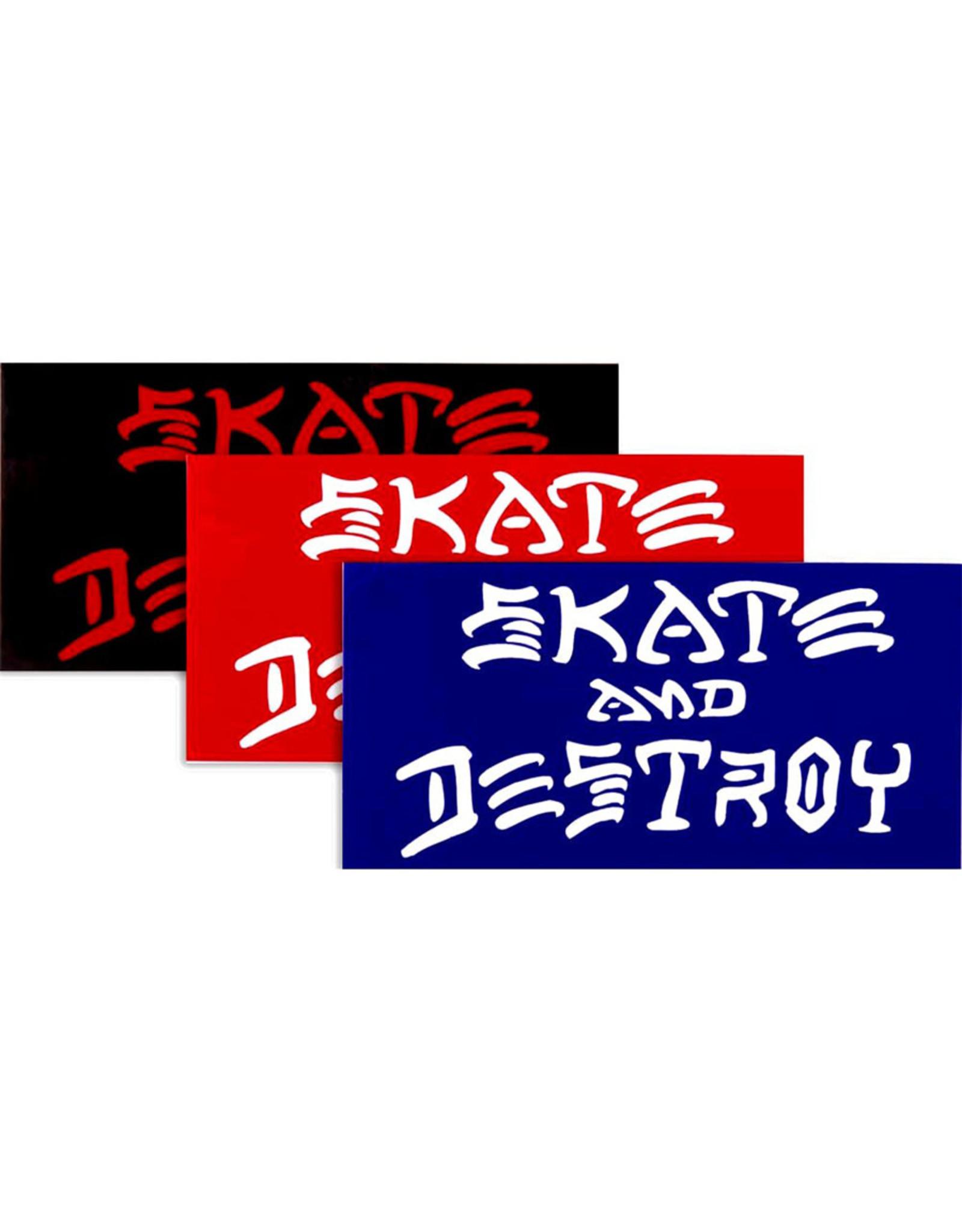 Thrasher Thrasher Sticker Sk8 And Destroy (Small)