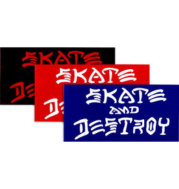 Thrasher Thrasher Sticker Sk8 And Destroy (Large)