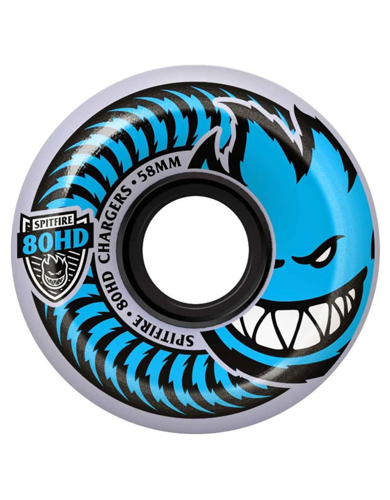 Spitfire Spitfire Wheels 80HD Charger Conical Clear (54mm/80d)