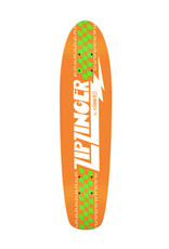 Krooked Krooked Deck Team Zip Zinger Classic Orange (7.5)