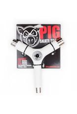 Pig Pig Tool Tri-Socket Threader (White)