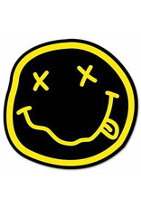 Star 500 Concert Series On Hollywood Sticker Nirvana Smiley (Circle)