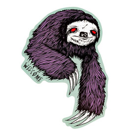 Welcome Welcome Sticker Sloth Purple/Sage