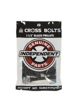 "Independent Independent Hardware Black (Phillips/1.50"")"