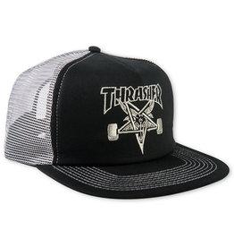Thrasher Thrasher Hat Sk8 Goat Snapback Trucker (Black/Grey)