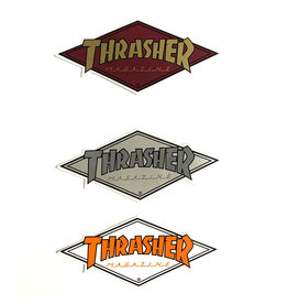 Thrasher Thrasher Sticker Diamond Die-Cut Logo (Small)