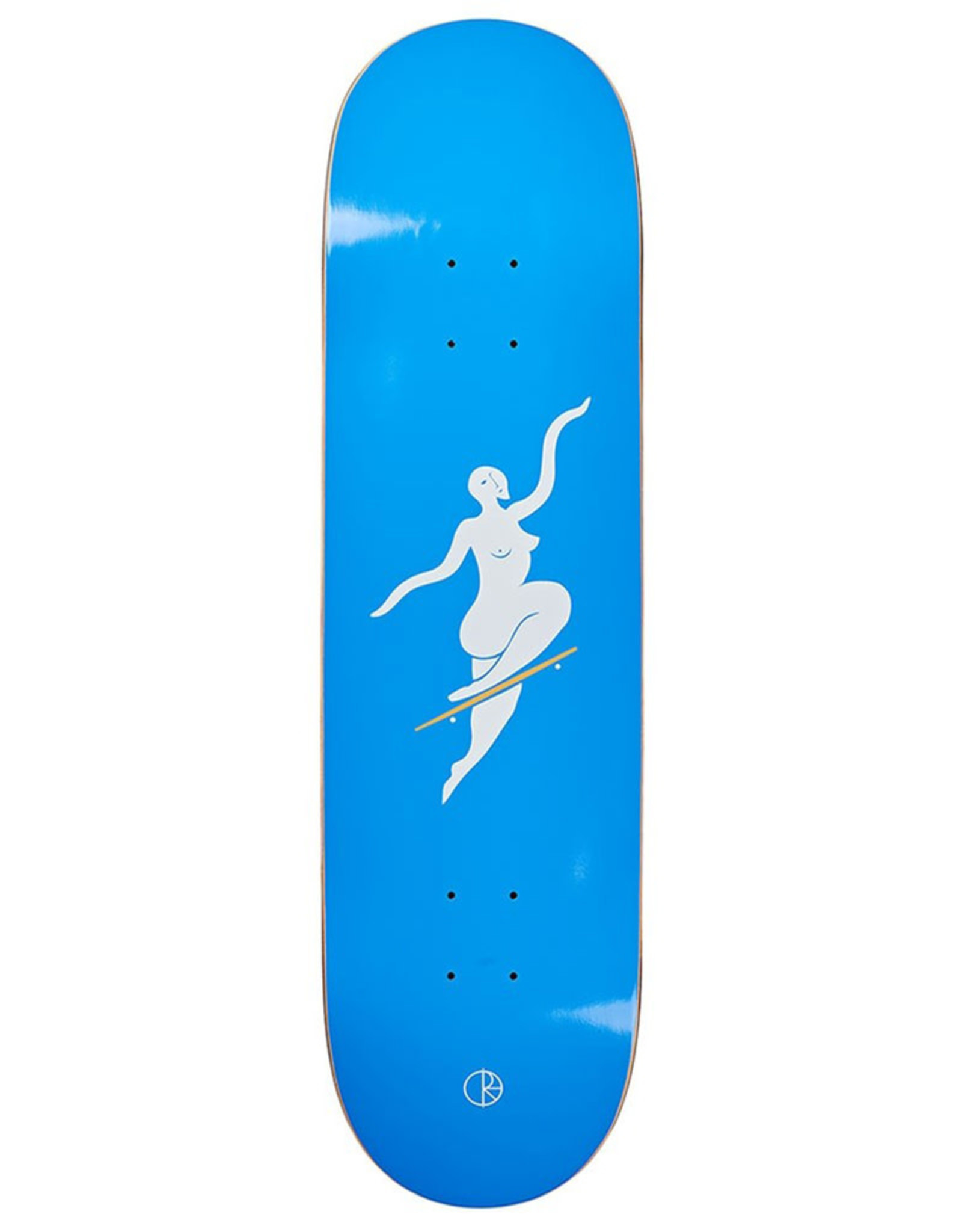 Polar Polar Deck Team No Comply Blue (8.125)