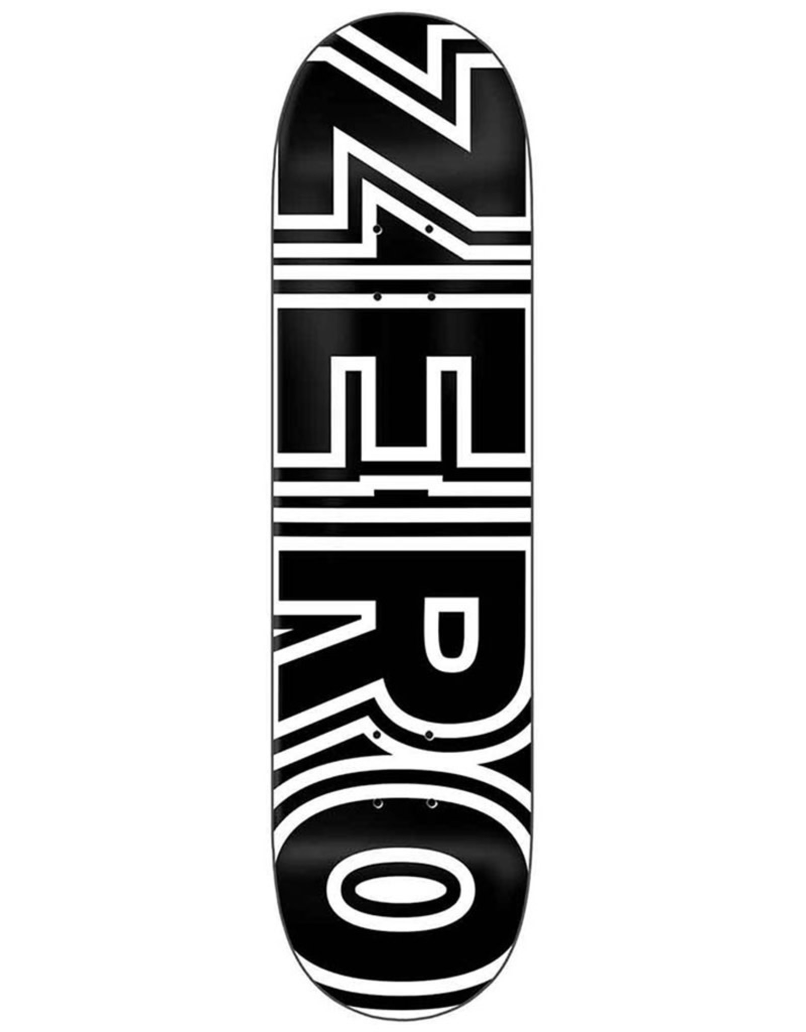 Zero Skateboards Zero Deck Team Bold (8.5)