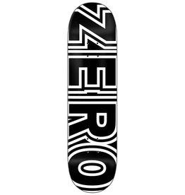 Zero Skateboards Zero Deck Team Bold (8.5)