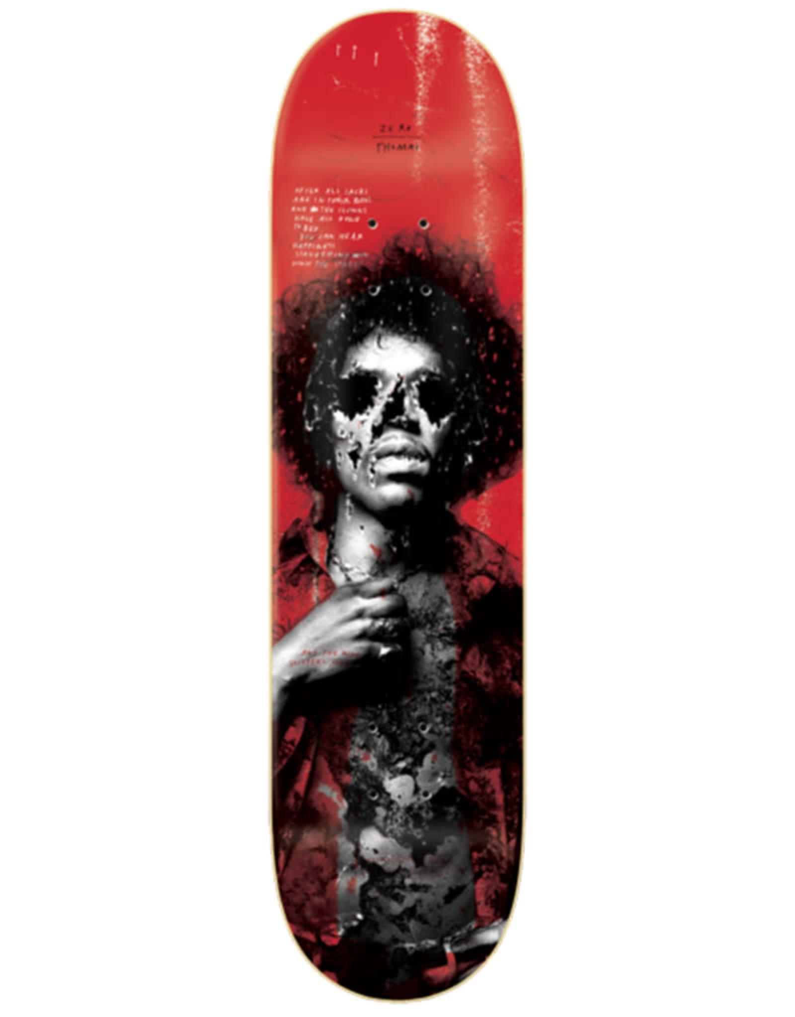Zero Skateboards Zero Deck Jamie Thomas 27 Club (8.0)