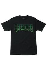 Creature Creature Tee Logo Outline Regular S/S (Black)