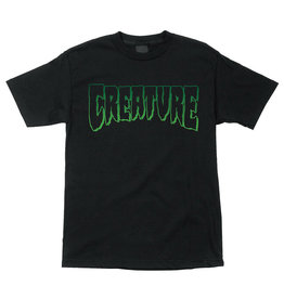 Creature Creature Tee Logo Outline Regular S/S (Black)