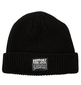 Creature Creature Beanie Support Long Shoreman (Black)