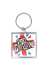 Star 500 Concert Series On Hollywood Key Chain (Union Jack)