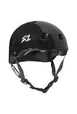 S-One S-One Helmet The Mini (Gloss Black/Black Straps)