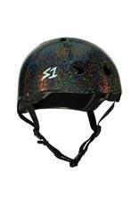 S-One S-One Helmet The Adult Lifer (Black Gloss Glitter/Black Straps)