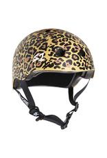 S-One S-One Helmet The Adult Lifer (Tan Leopard Print/Black Straps)