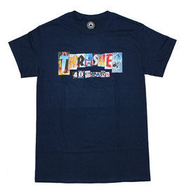 Thrasher Thrasher Tee Mens 40 Years S/S (Navy Blue)