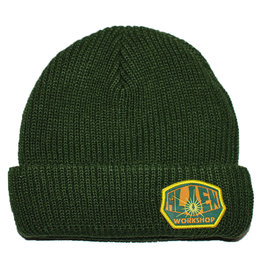 Alien Workshop Alien Workshop Beanie OG Logo (Army Green)