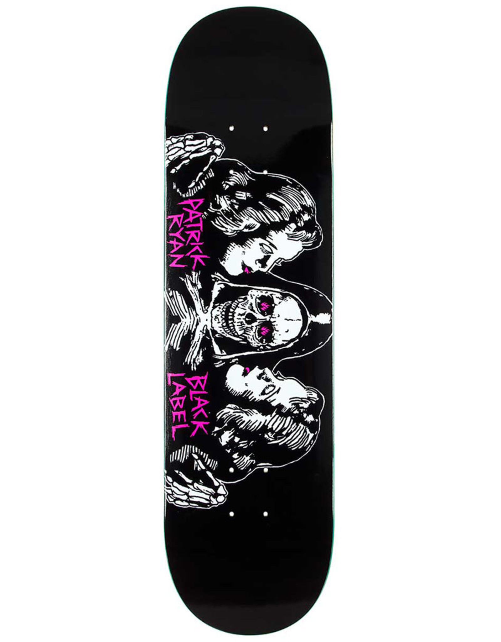 Black Label Black Label Deck Patrick Ryan Better Off Dead Black/White/Red (8.25)