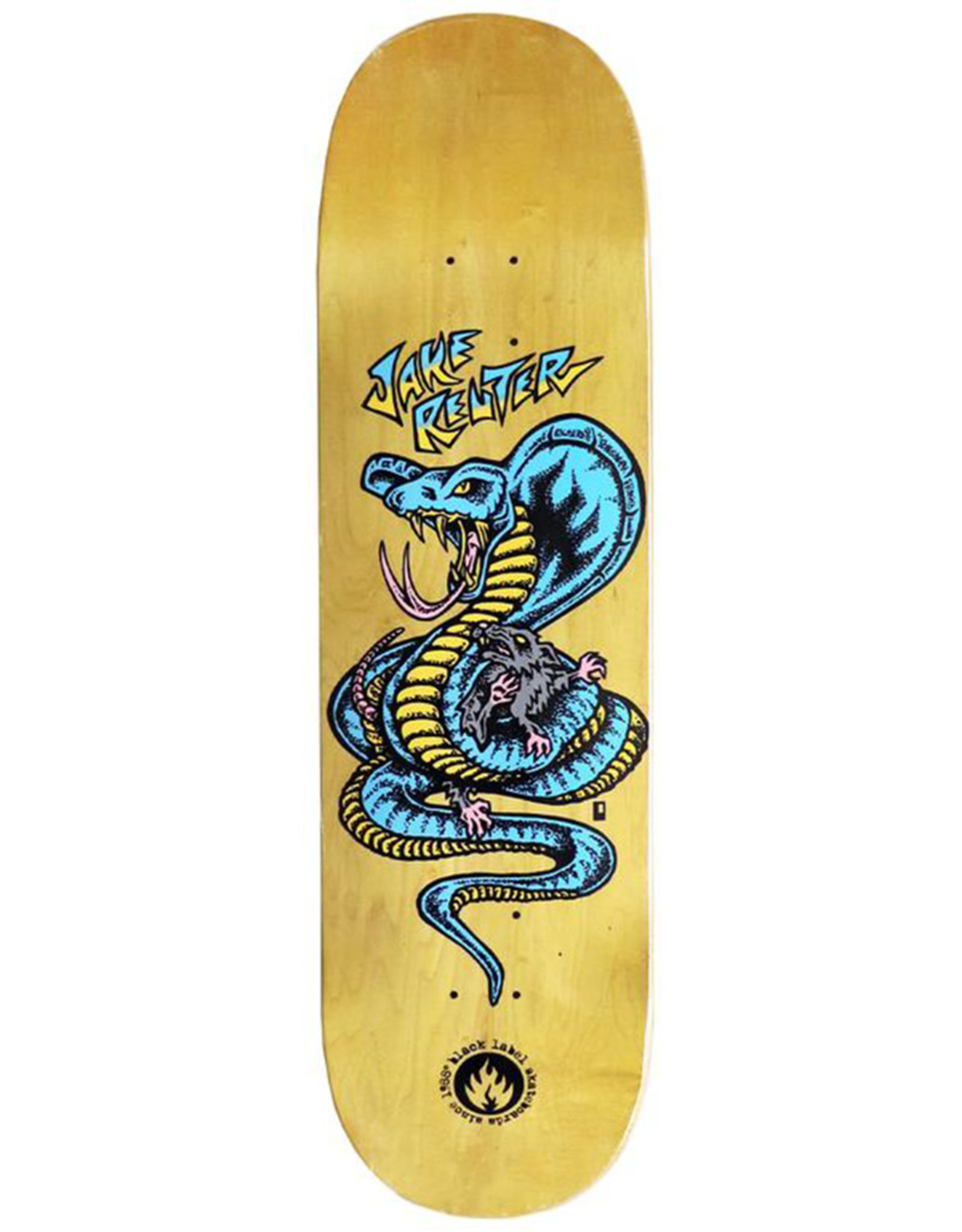 Black Label Black Label Deck Jake Reuter Snake And Rat (8.75)