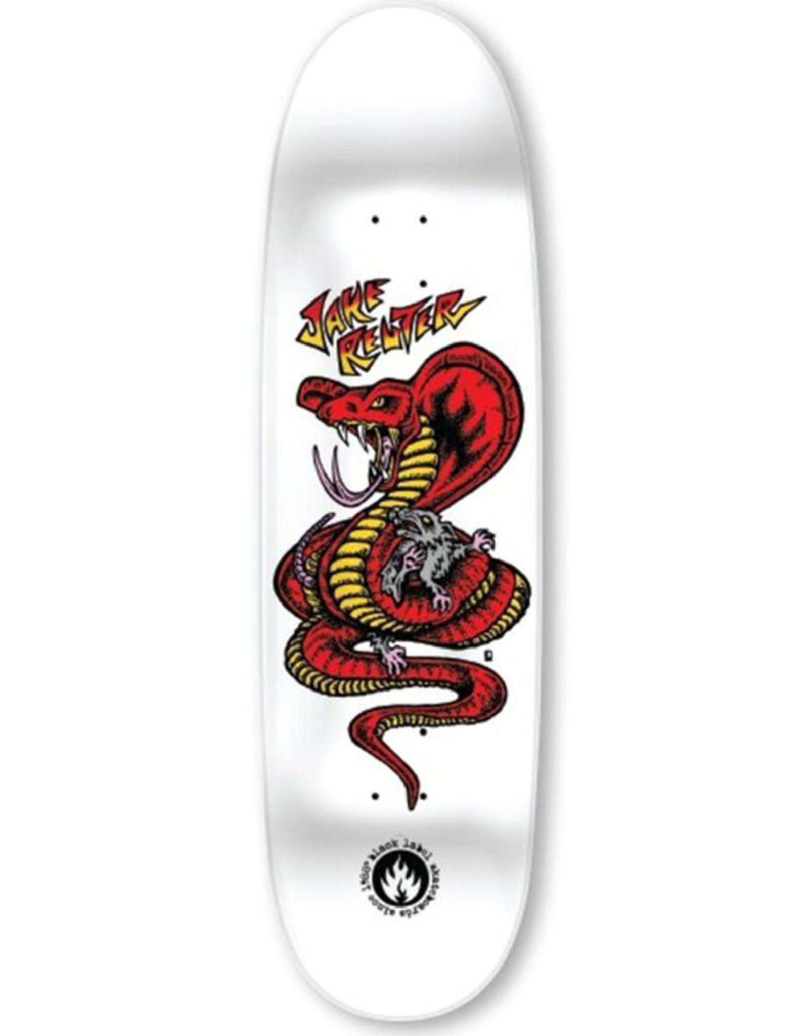 Black Label Black Label Deck Jake Reuter Snake And Rat White Painted (9.0)