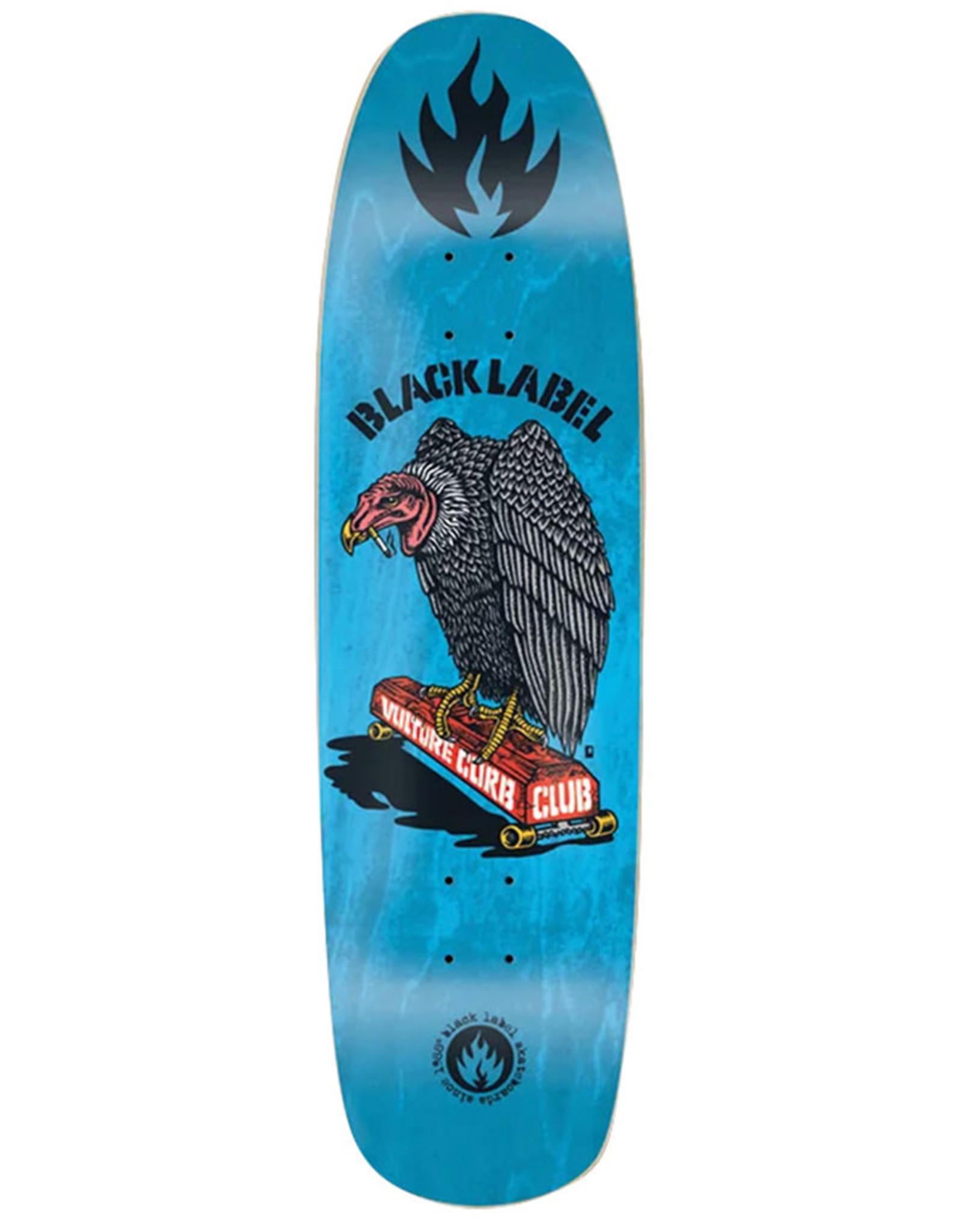 Black Label Black Label Deck Team Vulture Curb Club Blue Stain (8.88)