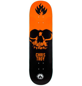 Black Label Black Label Deck Chris Troy Skull Black/Orange/White (8.5)