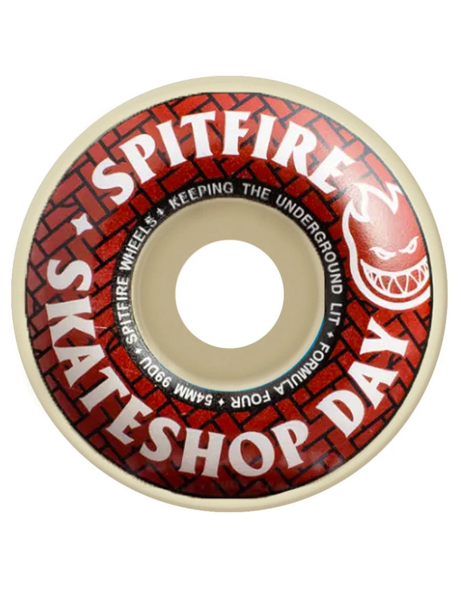 Spitfire Spitfire Wheels Formula Four Skate Shop Day Classic White (52mm/99d)