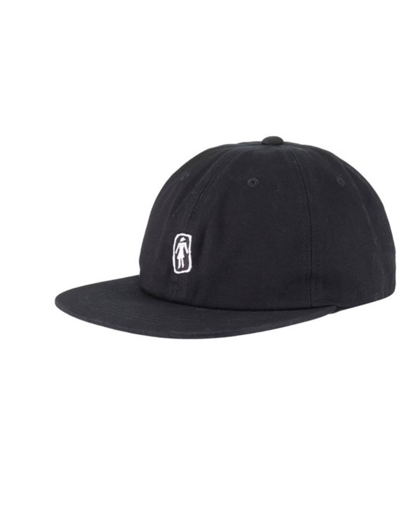 Girl Girl Hat Sketchy OG Snapback (Black)