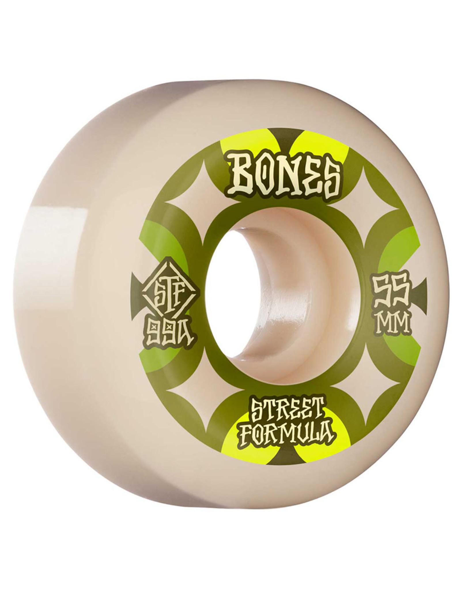 Bones Bones Wheels STF Retros V5 Sidecut White (53mm/99a)