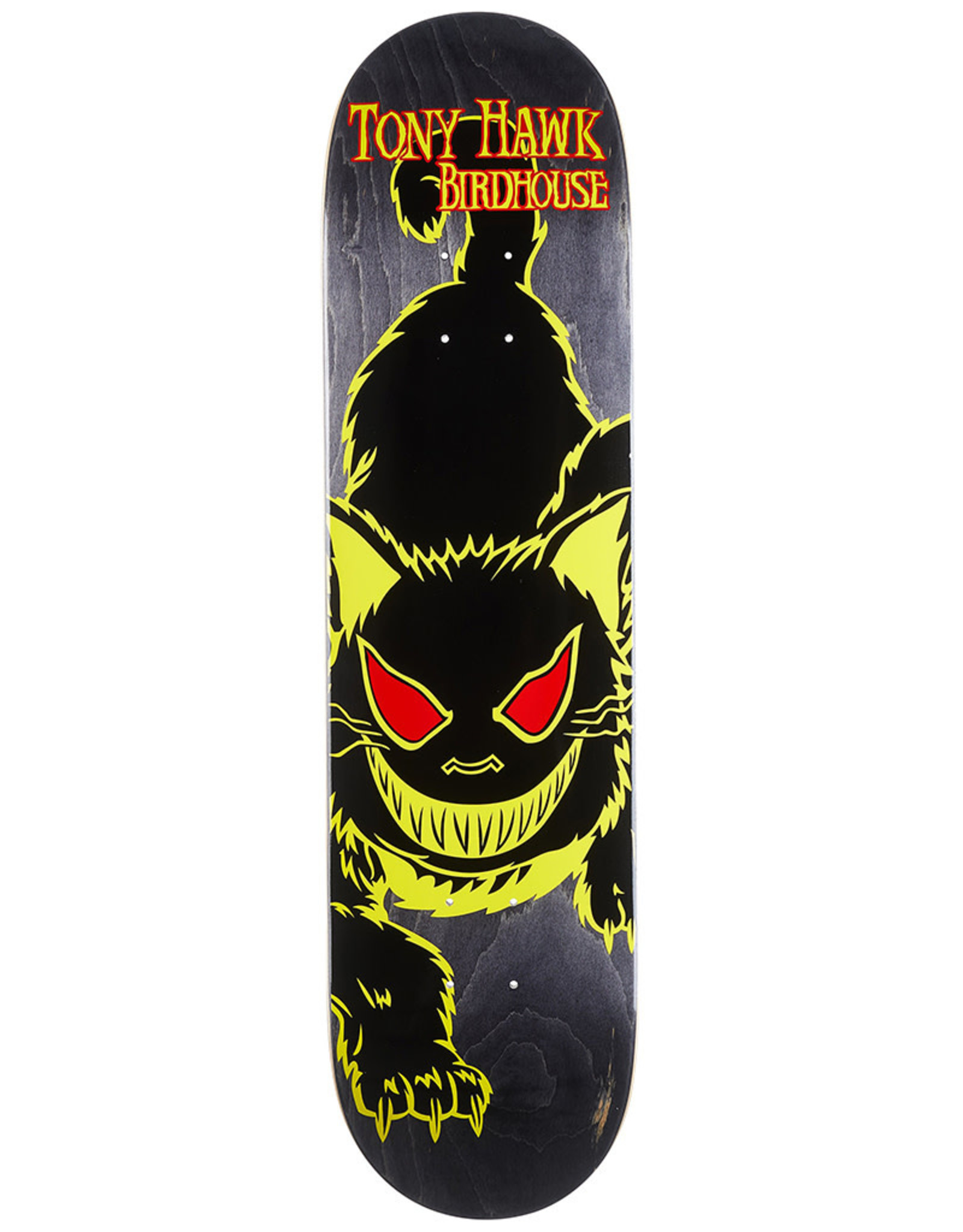 Birdhouse Birdhouse Deck Tony Hawk Evil Cat Yellow (8.0)