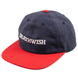 Deathwish Deathwish Hat Antidote Snapback (Navy/Red)