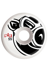 Pig Pig Wheels Head C-Line White (55mm)