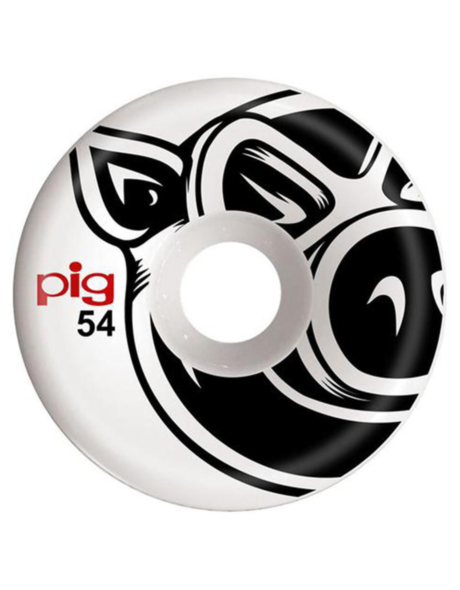 Pig Pig Wheels Head Natural White (54mm)