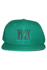 Stix Stix Hat Monrovia Collegiate Snapback (Kelly Green)