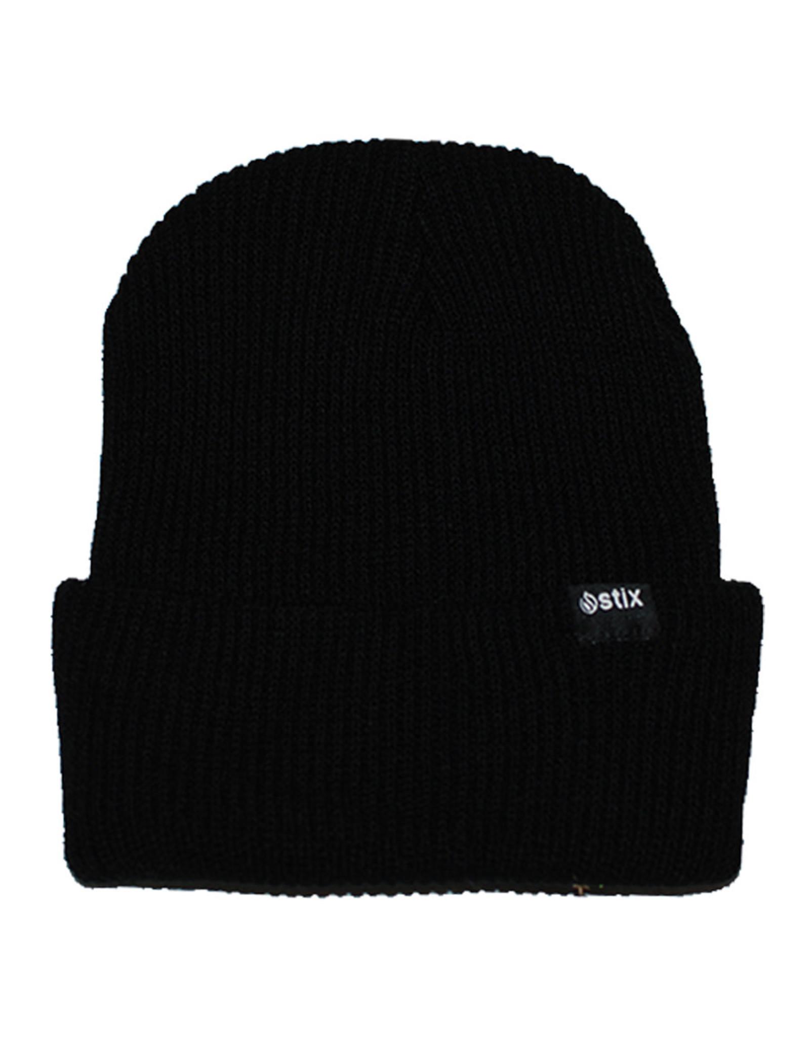 Stix Stix Beanie Classic Cuff (Black)