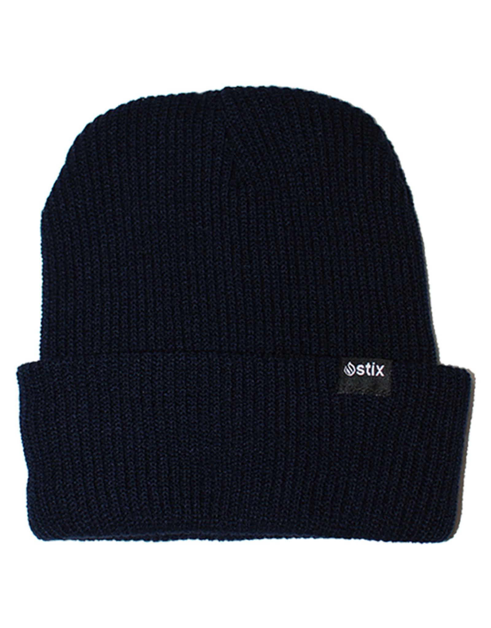 Stix Stix Classic Cuff Beanie (Navy Blue)