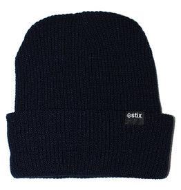Stix Stix Beanie Classic Cuff (Navy Blue)