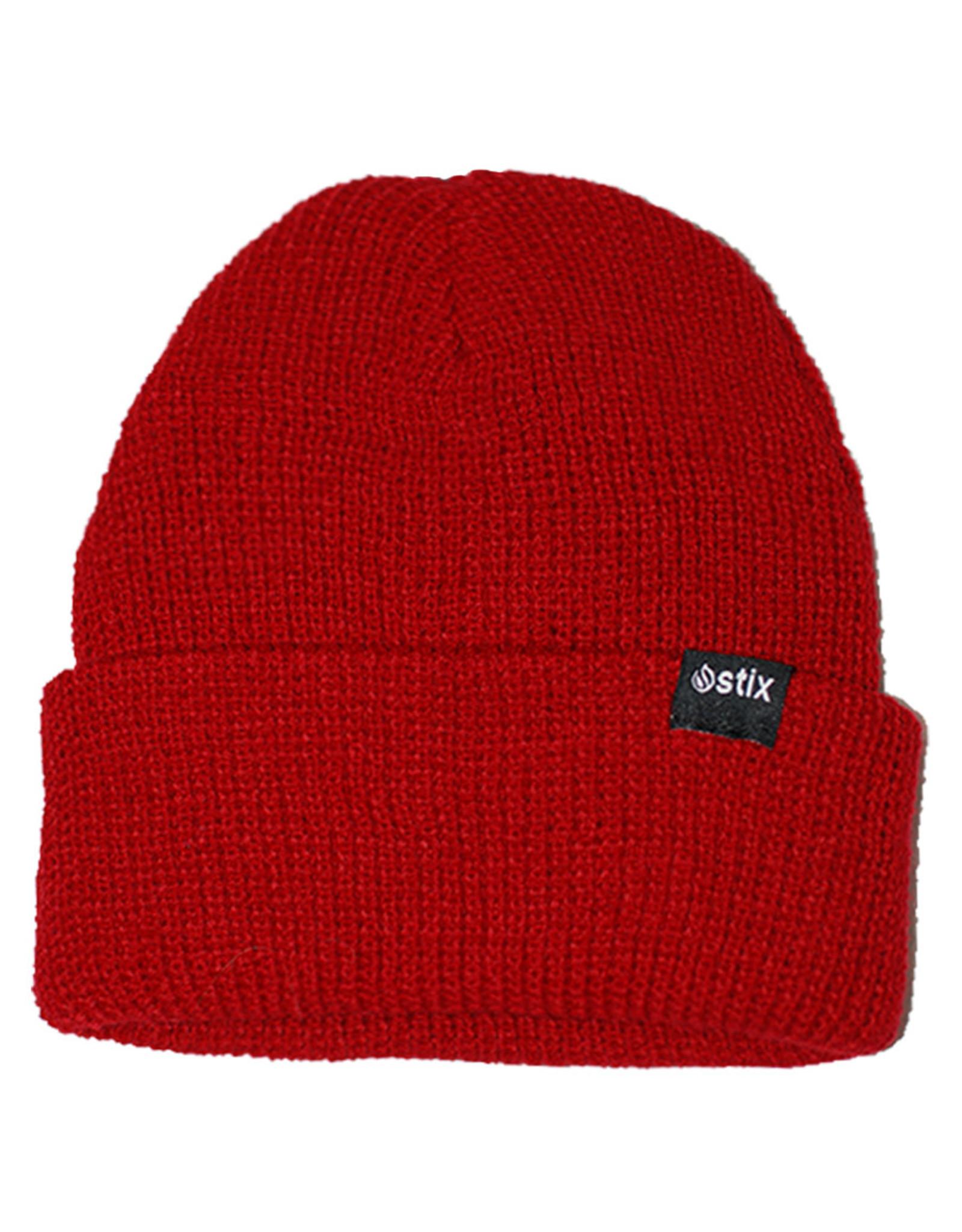 Stix Stix Beanie Classic Cuff (Red)