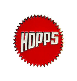 Hopps Hopps Lapel Pin Sun Logo