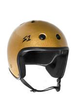 S-One S-One Helmet Adult Retro (Gold Glitter/Black Straps)